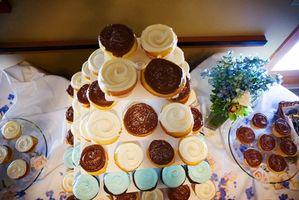 Wie Berg-Formationen aus Cupcakes machen