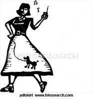 Über Pudel Röcke