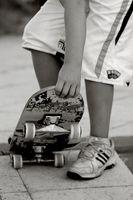 Wie ein Skateboard flach Bar Rail bauen