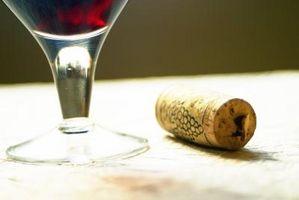 So ersetzen Sie eine Wein-Cork