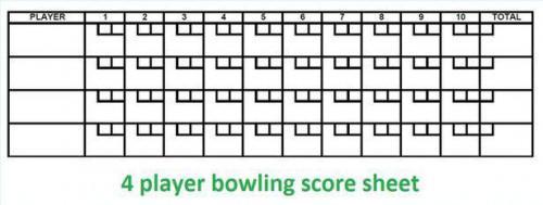 Wie die Berechnung Bowling-Ergebnisse per Hand