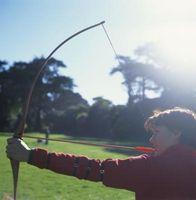 Wie man einen Bogen mit keine Anblick Ziel
