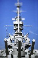 Was sind die Abmessungen des Schlachtschiffes USS Alabama?