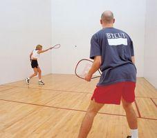 Anweisungen für Racquetball