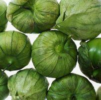 Wie man grüne Tomatillo Salsa