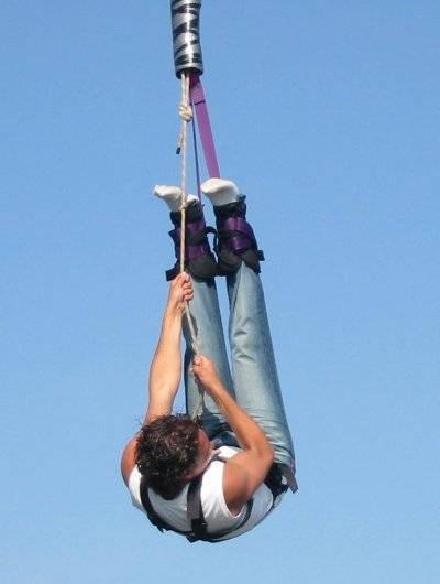 Funktionsweise von Bungee-Jumping
