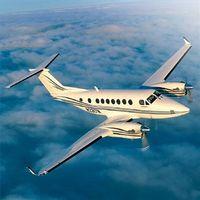 Fliegen auf einem Privat-Jet
