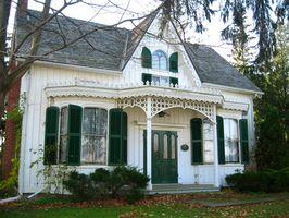 Die nationalen historischen Häuser von Oregon