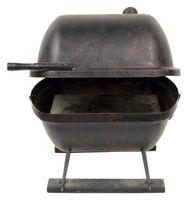Konvertieren Sie eine heiße Kiste in ein Raucher