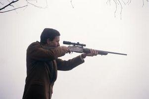 Wie zum Zusammenbruch einer Pistole Remington 760