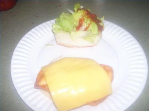 Wie man einen südwestlichen Chicken Sandwich