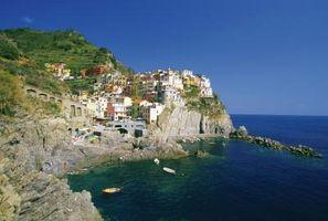Strände in La Spezia, Italien