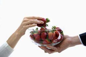 Dips, die Sie, für Strawberry verwenden können