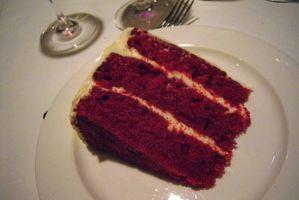 Wie man hausgemachte roter samt-Kuchen-Rezepte