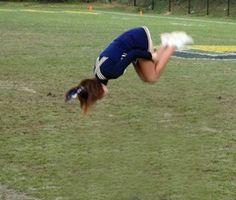Wie man einen Double in der Gymnastik