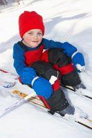 How to Teach Kids eine Ski-Übungslift verwenden