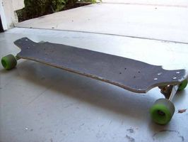Wie man eine hausgemachte Longboard Skateboard