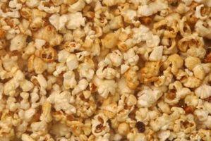Wie rana esculenta Salz Popcorn machen