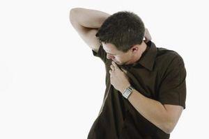 Wie Schweiß mit trockenen Pulvers zu verhindern