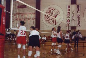 Volleyball-Regeln für High School Spiele