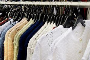 Hartes Wasserflecken aus Kleidung entfernen