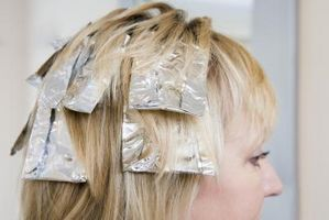 Entfernen von blonden Haaren Highlights
