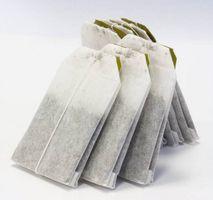 Was machen Teebeutel Papier verwendet wird?