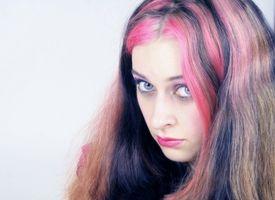 Schule-Ideen zum Haare färben