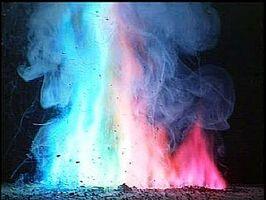 Gewusst wie: Ändern der Farbe für ein Lagerfeuer Flamme