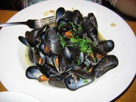 Risiken der Tote Muscheln Essen
