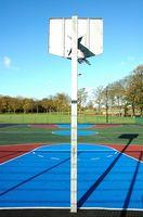 Wie installiere ich ein Basketball-Aussenplatz