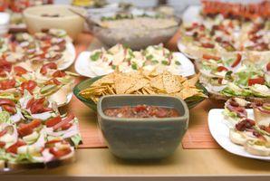 Ideen für einfache Party Essen / Swisscamping.com
