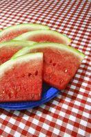 Gewusst wie: Wassermelone Rinde fixieren