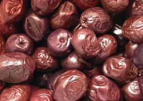 Wie man Oliven für eine Vorspeise Warm