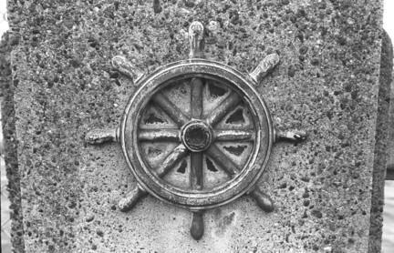 Teile von einem Schiff-Rad