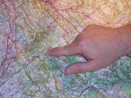 Wie finde ich eine Adresse-Lage auf der Karte?