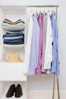 Was zu halten, wenn die Sortierung durch alte Kleidung