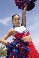 Optionen für Cheer Uniformen Schriftzug