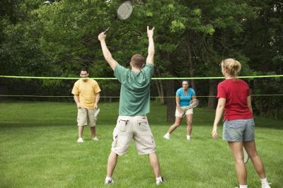 Was ist ein Birdie im Badminton?