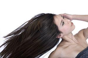 Möglichkeiten, um ziemlich langes Haare jeden Tag schnell beheben
